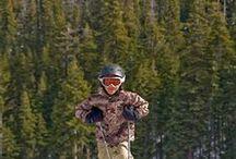 Skiing, Boarding and Sledding in Tahoe / Skiing, boarding, sledding, snowshoeing, s'mores, hot cocoa and winter outdoor fun at Granlibakken Lake Tahoe.