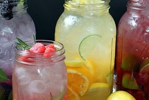Fruity drinks and waters / by Tammy Reynolds-Rice
