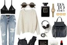 P O L Y V O R E / Style collages put together by me on my polyvore account!