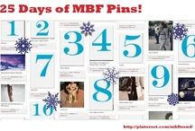 MBF's 25 Days of Pinterest