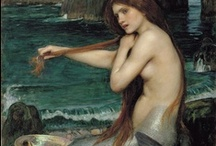 Mermaids & Fairies from the Past / A few famous mermaid and fairy paintings from the past.