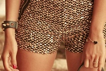 Who wears short, glam shorts?