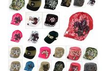 Caps / Hats / http://www.bonanza.com/booths/gingasgalleria / by Ginga's Galleria Fashions