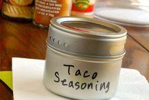 Seasonings, Mixes, and Sauces