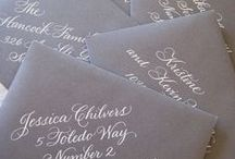 Wedding Invites, Programs, Menus etc.. / by Lacey Albert