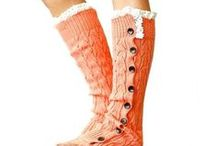 Leg Warmers / http://www.bonanza.com/booths/gingasgalleria / by Ginga's Galleria Fashions