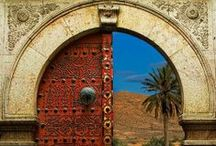 Distinctive Doors / Doors and Hardware as works of art #doors, #portals / by Suzi Rosenblum