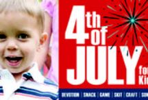 4th of July KidMin Activities / Ideas, lessons, games, and more that you can use in big church, Sunday school, children's church, or home. Help kids understand and celebrate Independence Day. / by Children's Ministry Magazine