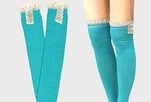 Boot Socks / http://www.bonanza.com/booths/gingasgalleria / by Ginga's Galleria Fashions