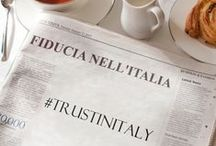 #TRUSTINITALY / FIDUCIA NELLA MODA ITALIANA!