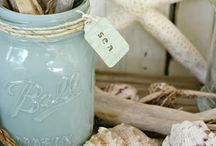 Burlap and Mason Jars / by Michelle Shannon