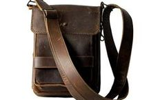 The Tom Taylor Line / Tom Taylor's own line of oil-tanned leather bags.