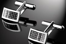Cufflinks / Luxury and refinement, Maison Bachet offers cufflinks collection made of white and black diamonds. A unique piece of jewellery where every man will find himself in the style that belongs to him.