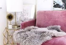 THINK PINK / The Pursuit of Pink Interior Happiness
