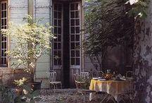Porch/Veranda/Terrace/Balcony/Patio/Deck etc... / by Christina Campbell