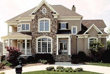 * Home Sweet Home * / Big & Small, Interior & Exterior.... in my dream home!! Ya, when I'm a high roller...lol ;)  / by Kristi Roskelley