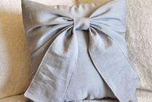 Fabric, wool, ribbon etc crafts