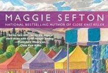 Books By Maggie Sefton / Maggie Sefton not only writes the Kelly Flynn Knitting Mysteries, but the Molly Malone Mysteries, and historical romances, too! / by Cozy Chicks