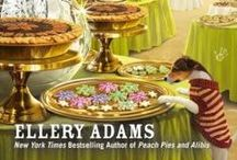 Books by Ellery Adams / Ellery Adams writes the Books By The Bay, Charmed Pie Shoppe, and the Book Retreat Mysteries.  She also writes under the name J.B. Stanley. / by Cozy Chicks