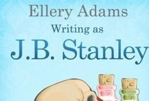 Books by J.B. Stanley / J.B. Stanley writes the Supper Club and Collectibles Mysteries. She also writes the Books By The Bay, Charmed Pie Shoppe, and Book Retreat Mysteries as Ellery Adams. / by Cozy Chicks