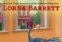 Books by Lorna Barrett / Lorna Barrett writes the Booktown Mysteries.  She also writes the Victoria Square Mysteries and Tales of Telenia adventure-fantasy series as Lorraine Bartlett, and the Jeff Resnick Mysteries as L.L. Bartlett. / by Cozy Chicks