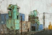 Art- City Scapes / by Daniel Blignaut