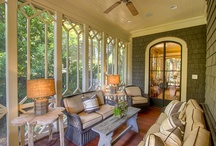 Outdoor Living Areas / by Michele Yates {The Homesteading Cottage}