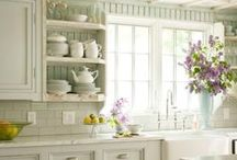 Kitchen & Dining / by Michele Yates {The Homesteading Cottage}