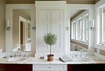 Bathrooms / by Michele Yates {The Homesteading Cottage}