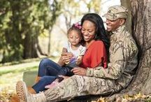 Military Life / Military life has special moments, interesting stories, and obstacles that make it unique and so worth it.