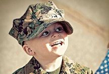 Military Babies and Kids / Resources for military kids.