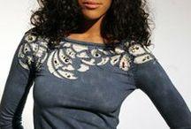 Tees/knits/sweats- / embellish/manipulate/sew