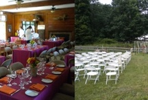 Events at the Nature Center / For a beautiful and natural setting for your special day, visit the Cayuga Nature Center. Inquiries can be made at rentals@museumoftheearth.org