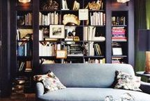 Literary Décor & Spaces / Homes decorated with books and their pages, whether it be actual books and pages or just items made to look like them.  / by Writer's Relief
