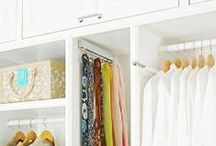 Organizing {The Closet} / by Michele Yates {The Homesteading Cottage}