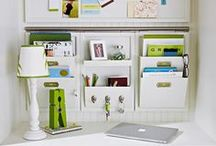 Organizing {The Office} / by Michele Yates {The Homesteading Cottage}