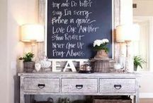 Chalkboard Inspiration / by Michele Yates {The Homesteading Cottage}