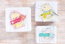 D I Y - jolis paquets / DIY, idées pour de jolis emballages, petits cadeaux, packaging.