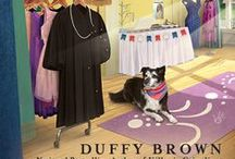 Books By Duffy Brown / Duffy Brown is the author of the Consignment Shop and Cyclepath Mystery series. / by Cozy Chicks