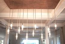 """DIY Lighting Ideas / Inspiring ideas for DIY lighting...Why buy new when you can create something custom and save money in the process. ***Please share the love and pin more than just your own """"stuff."""" To keep the board fresh, refrain from pinning the same post repeatedly - multiple pins of the same post will be deleted. All spam or off topic pins will be deleted as well*** Message me if you'd like an invitation to join the board."""