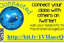 Tech- Twitter / Are you a teacher interested in using Twitter professionally or with your class? This board has a variety of resources for you to get started