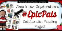 #EpicPals / You will find our monthly #EpicPals book collections listed on this board- more info to come in the next month on this feature and how to use it