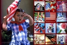 Red White and Blue / red white and blue decorating, products, and ideas for patriotic parties