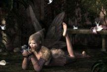 * Angels,Fairies & Cherubs * / by Debbie Knouse