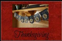 Thanksgiving / Ideas for home decor, diys, and activities for Thanksgiving