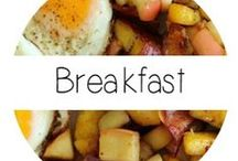 Breakfast / You can never skip breakfast! Check out these meals that will start your day off right!