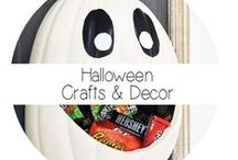 Halloween Crafts / Decor / Get your craft on.