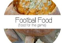 Football Food / From tailgating to the perfect football themed party!