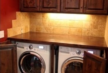 Laundry room ideas!