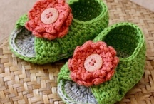crochet & knitting - slippers, socks, booties and shoes / by Beverley Gillanders